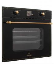Электрический духовой шкаф Perfelli BOE 6645 BL ANTIQUE GLASS