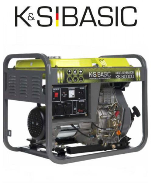Генератор K&S BASIC KS 6000 D