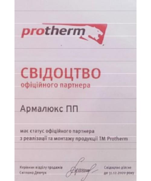 Газовый котел Protherm Пантера 25 KTV + труба