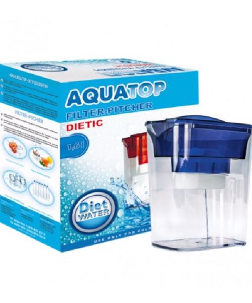 Фильтр кувшин Акватоп 1,6 литра