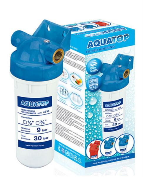 Магистральный фильтр Aquatop SL10 для холодной воды (белый) 3/4