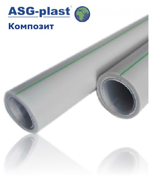 Труба ASG-Plast Nano Ag композит Ø 20-110