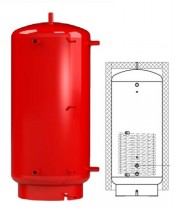 Теплоаккумулятор Kronas 500 (с теплообменником)