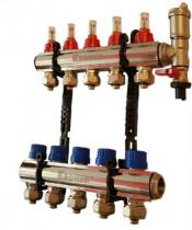Коллектор для теплого пола KRONER на 12 выходов