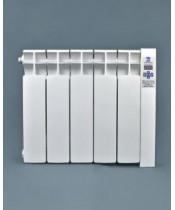 Низкие электрорадиаторы Оптимакс 5 секций