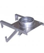 Разгрузочная подставка настенная нерж AISI 201 (1 мм)